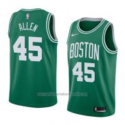 Camiseta Boston Celtics Kadeem Allen #45 Icon 2018 Verde