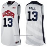 Camiseta USA 2012 Chris Paul #13 Blanco
