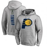 Sudaderas con Capucha Myles Turner Indiana Pacers Gris