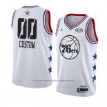 Camiseta All Star 2019 Philadelphia 76ers Personalizada Blanco