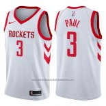 Camiseta Houston Rockets Chris Paul #3 2017-18 Blanco