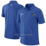 Camiseta Polo Orlando Magic Azul