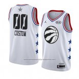 Camiseta All Star 2019 Toronto Raptors Personalizada Blanco