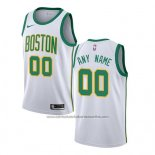 Camiseta Boston Celtics Ciudad 2018-19 Blanco Personalizada