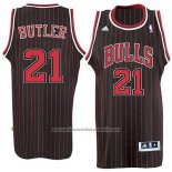 Camiseta Chicago Bulls Jimmy Butler #21 Retro Negro