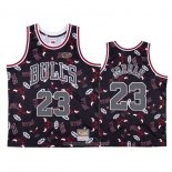 Camiseta Chicago Bulls Michael Jordan NO 23 Hardwood Classics Tear Up Pack Rojo