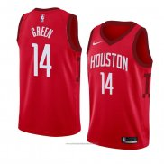 Camiseta Houston Rockets Gerald Green #14 Earned 2018-19 Rojo