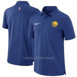 Camiseta Polo Golden State Warriors Azul