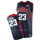 Camiseta USA 2012 Kyrie Irving #23 Negro