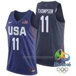 Camiseta USA 2016 Klay Thompson #11 Azul