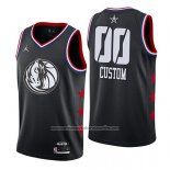 Camiseta All Star 2019 Dallas Mavericks Personalizada Negro