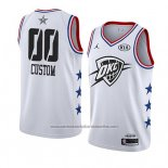 Camiseta All Star 2019 Oklahoma City Thunder Personalizada Blanco