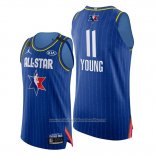 Camiseta All Star 2020 Eastern Conference Trae Young NO 11 Azul