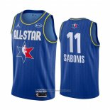 Camiseta All Star 2020 Indiana Pacers Domantas Sabonis NO 11 Azul