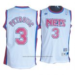 Camiseta Brooklyn Nets Drazen Petrovic #3 Retro Blanco