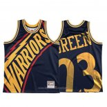 Camiseta Golden State Warriors Draymond Verde NO 23 Mitchell & Ness Big Face Azul