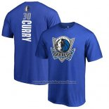 Camiseta Manga Corta Seth Curry Dallas Mavericks Azul