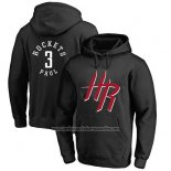 Sudaderas con Capucha Chris Paul Houston Rockets Negro3