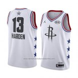 Camiseta All Star 2019 Houston Rockets James Harden #13 Blanco