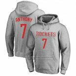 Sudaderas con Capucha Carmelo Anthony Houston Rockets Gris