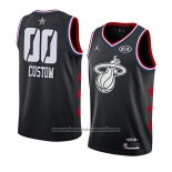 Camiseta All Star 2019 Miami Heat Personalizada Negro