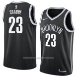 Camiseta Brooklyn Nets Allen Crabbe #23 Icon 2018 Negro