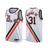 Camiseta Los Angeles Clippers Marcus Morris Sr. NO 31 Classic Edition Blanco
