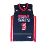 Camiseta USA 1992 Scottie Pippen #8 Negro