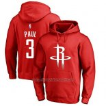 Sudaderas con Capucha Chris Paul Houston Rockets Rojo2