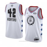 Camiseta All Star 2019 Boston Celtics Al Horford #42 Blanco
