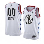 Camiseta All Star 2019 Dallas Mavericks Personalizada Blanco