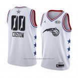 Camiseta All Star 2019 Orlando Magic Personalizada Blanco