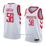 Camiseta Houston Rockets Gerald Green #58 Association 2018 Blanco