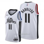 Camiseta Los Angeles Clippers Maurice Harkless NO 11 Classic 2019-20 Blanco