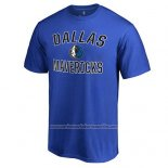 Camiseta Manga Corta Dallas Mavericks Azul4
