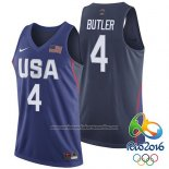Camiseta USA 2016 Jimmy Butler #4 Azul