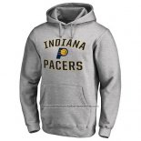 Sudaderas con Capucha Indiana Pacers Gris2